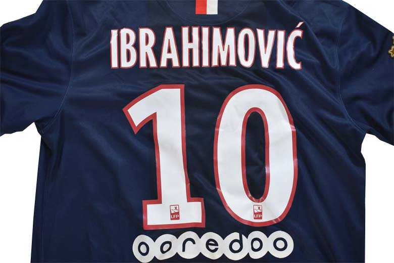 Maillot Ibrahimovic 2014 2015 Flocage Copie