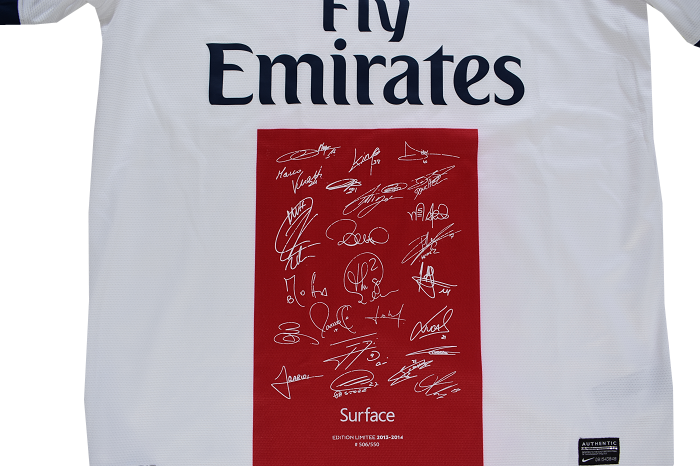 Maillot Signatures Face Zoom