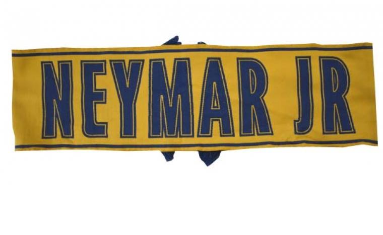 Echarpe Neymar Jaune Copie